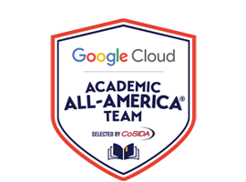 Academic All-America Team Logo - Go to homepage