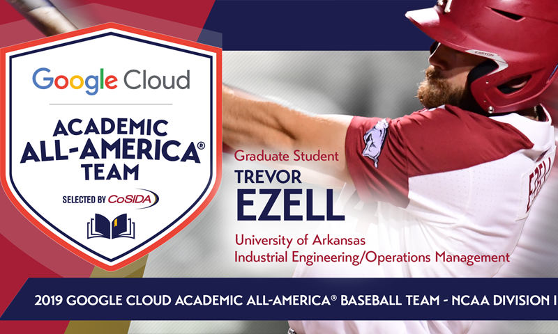 2019 Google Cloud Academic All-America® NCAA Division I